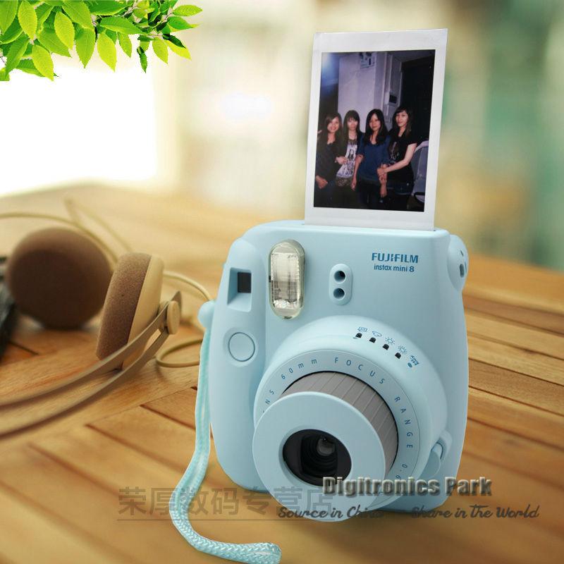 fujifilm instax mini 8 film cam ra manuel focale fixe une tape pas cher appareil photo. Black Bedroom Furniture Sets. Home Design Ideas