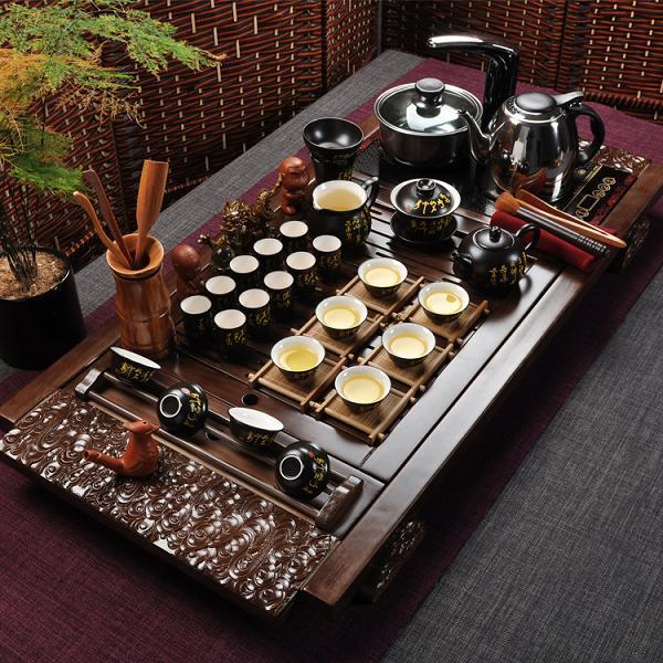 Chinese Kung Fu Tea Set Yixing Teapot Tureen