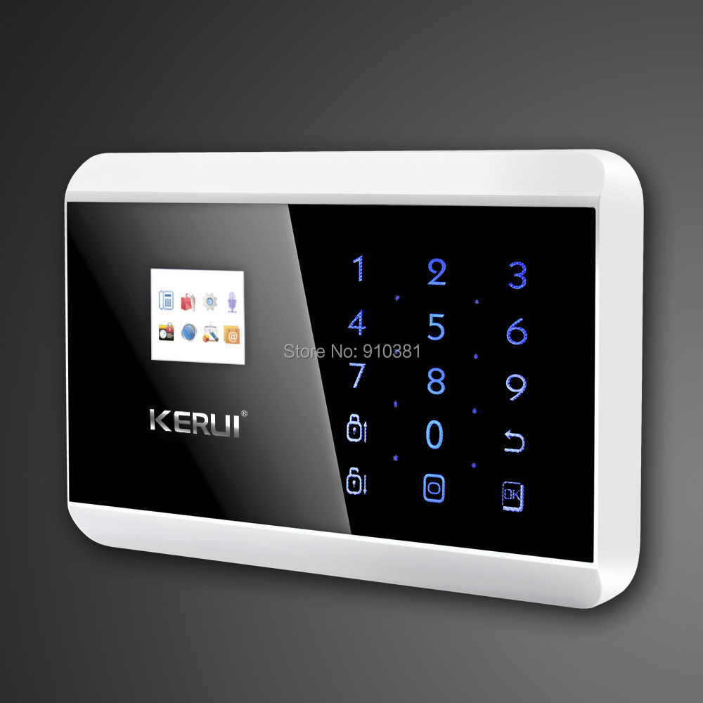 IOS Android APP Touch Screen Panel+LCD Display Wireless GSM PSTN ...