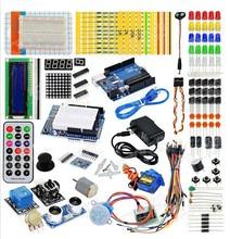 Конечной комплект Hc-sr04 Ультразвуковой Датчик/Step Motor/Серво/1602 LCD/ООН R3 starter Kit для ARDUINO с Розничной коробке(China (Mainland))