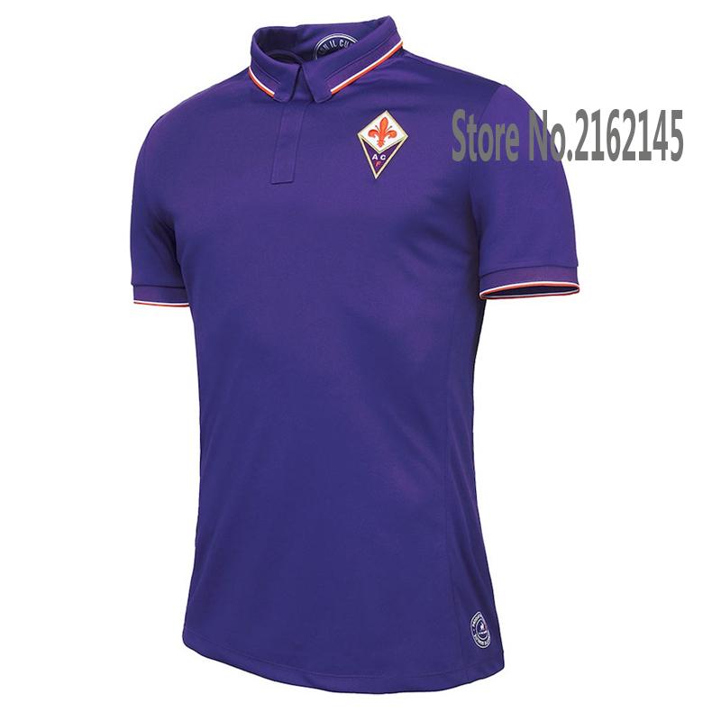 New ACF Fiorentina 2016 Home Soccer Jerseys ACF Fiorentina FOOTBALL SHIRTS Fiorentina Men football clothes Best quality(China (Mainland))