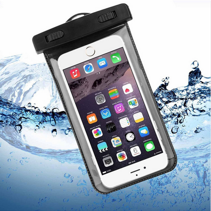 Transparent Waterproof Underwater Pouch Dry Bag Case Cover For Apple iPhone 5 5G 5S 5SE Cell Phone Touchscreen Mobile Phone(China (Mainland))