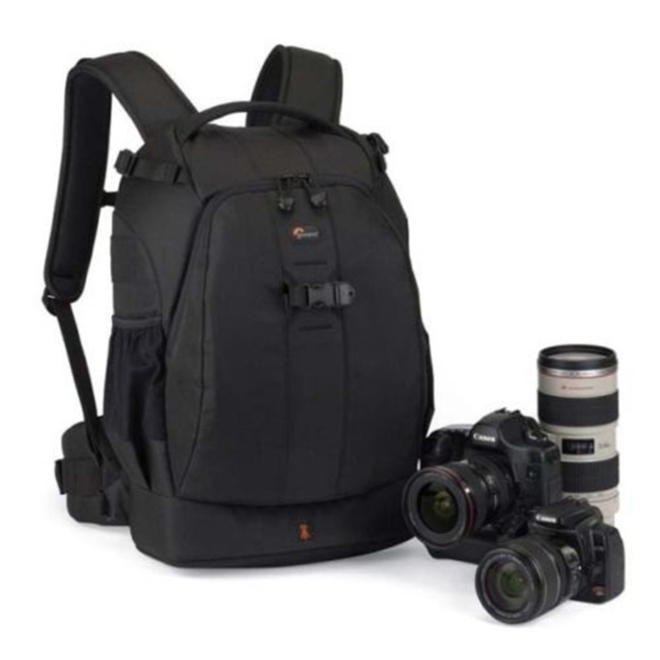 Hot selling High Quality Lowepro Flipside 400 AW Black Camera Digital DSLR Bag Backpack for Canon Nikon Sony free shipping(China (Mainland))