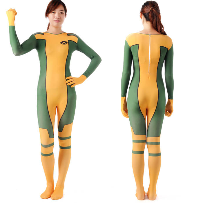 x Men Rogue Halloween Costume X-men Rogue Costume For Sale