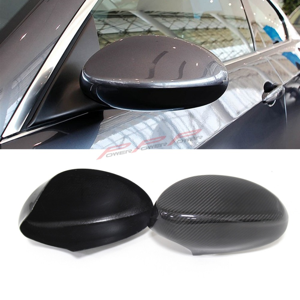 For BMW E92 Latter E93 Latter Carbon Fiber Mirror Cover Full add on style Full add on style 2009 2010 2012<br><br>Aliexpress