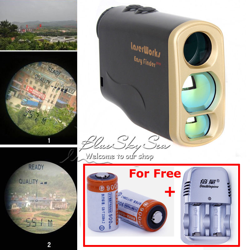 Free Shipping!1000M Waterproof Laser Rangefinder Telescope Distance Speed Measurement for Outdoor Hunting Golf+Battery&amp;Charger<br><br>Aliexpress
