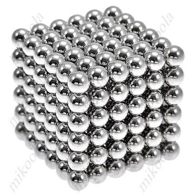 New Style 216 x 5mm Magic Magnet Magnetic DIY Balls Sphere Neodymium Cube Puzzle(China (Mainland))
