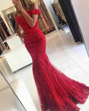 Red Evening Dresses 2017 V-Neck Sleeveless Button Sweep Train Applique with Lace Mermaid Prom Dresses Long Vestidos De Festa(China (Mainland))