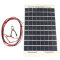Universal 12V 10W PolyCrystalline Epoxy Resin Cells Solar Panel DIY Module Set with Block Diode 2
