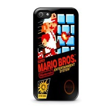 NES Super Mario Bros cover case for iPhone 4s 5s 5c 6 Plus iPod touch 5 Samsung Galaxy s2 s3 s4 s5 mini s6 edge Note 2 3 4 cases(China (Mainland))