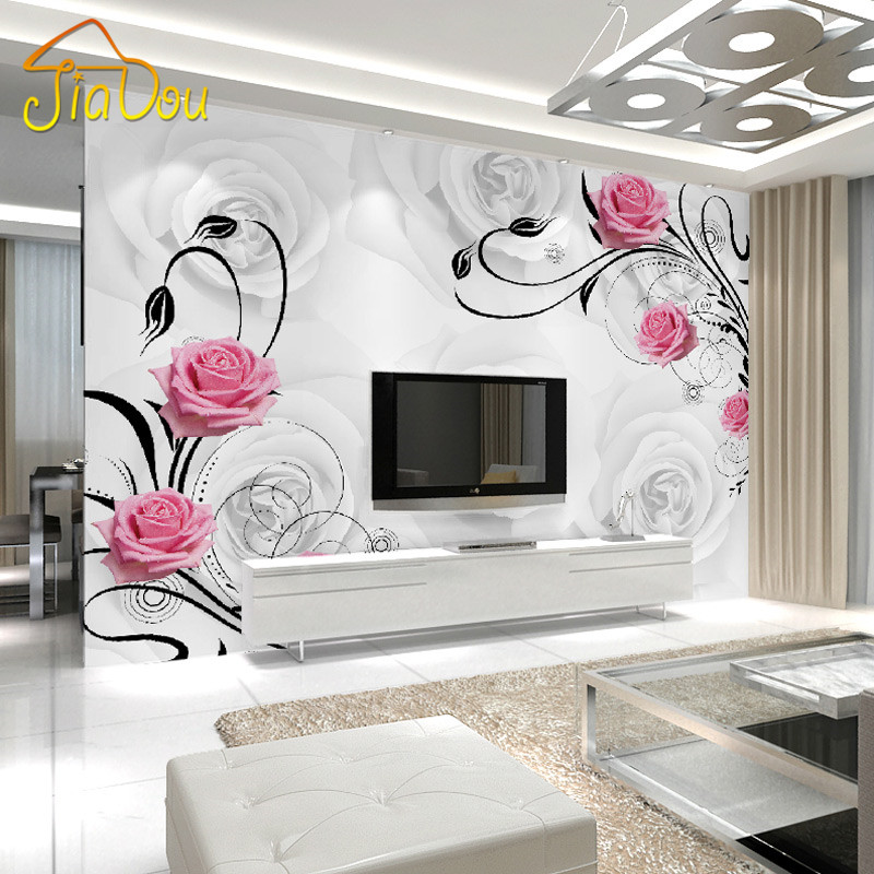 Custom photo wallpaper large 3d living room bedroom sofa for 3d wallpaper designs for living room