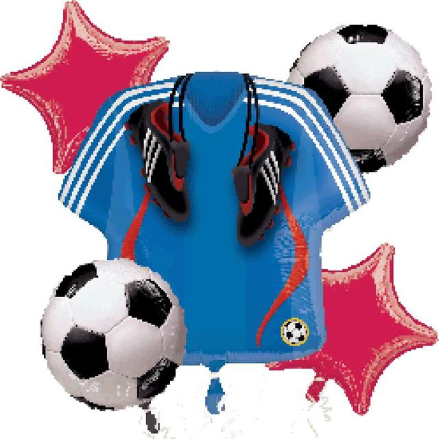 Boy 1st baby shower kids teenager sport football birthday for Baby boy shower decoration kits