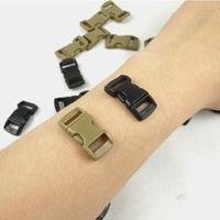 Kam Mini Picture Buckle Straps Survival Bracelet 10mm Arc Hang Buckle Hooks Carabiner Paracord