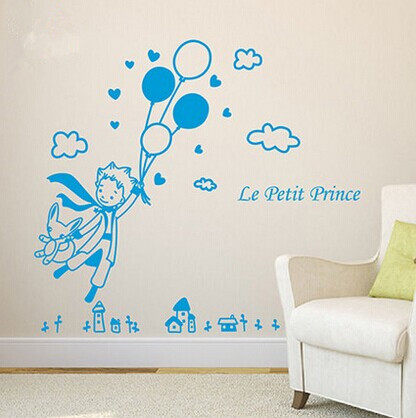 1 x 600 620mm removable wall sticker decal decor the - Sticker petit prince ...