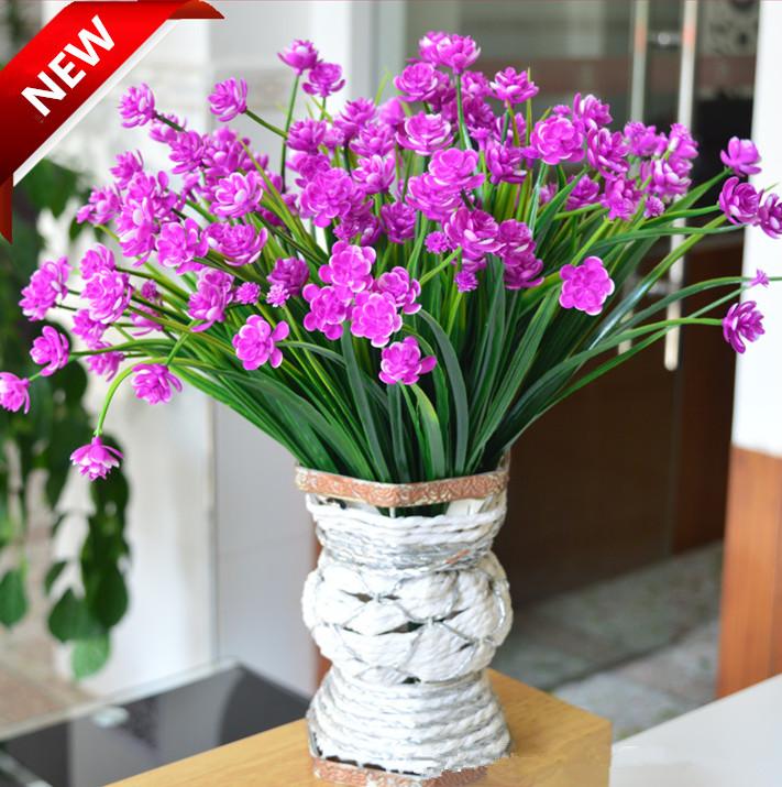 One bouquet Short shoot corn little lotus artificial flower fake Aquatic plants Plastic flowers washable home vase decoration(China (Mainland))