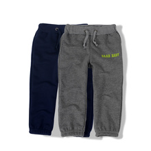 2014 Children's Spring and Autumn Clothing Male Child Casual Trousers Baby 100% Loop Pile Cotton Pants Child Elastic Trousers(China (Mainland))