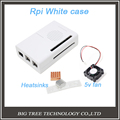 Hot Raspberry Pi 2 Model B White Case Cover compatible with RPI B plus 5v 3010
