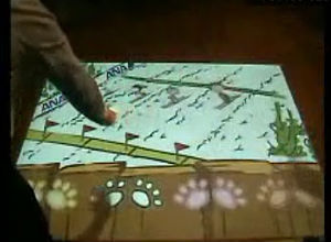 Superior quality interactive projection floor/wall system for advertising, exhibition,shopping center..