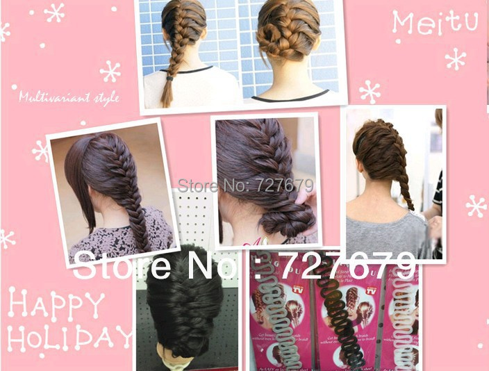 2014 Hair styling wave shape Braider magic hair braiding machine TV shopping Styling Tools mix - wahowo! FEELING store