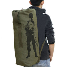 Outdoor Travel Luggage Army Bag Men Military Backpacks Canvas classic Mountain Hiking Backpack Camping Tactical Rucksack mochila