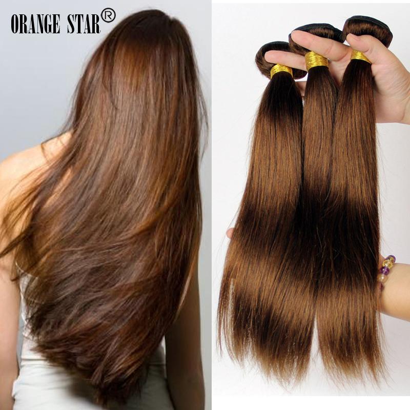 Нарощенные волосы цвета шоколад