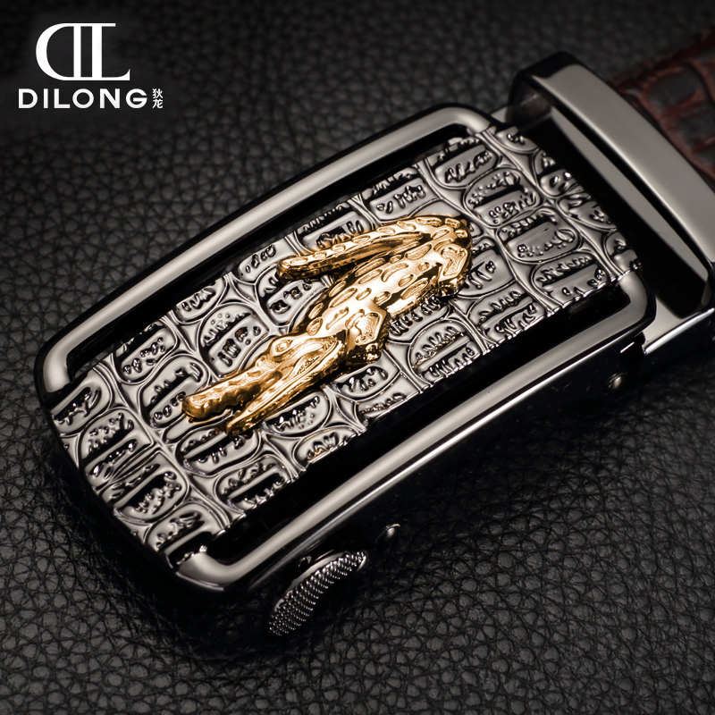 designer belts mens belts luxury brand real leather belt buckle automatic fashion leisure belt business crocodile(China (Mainland))