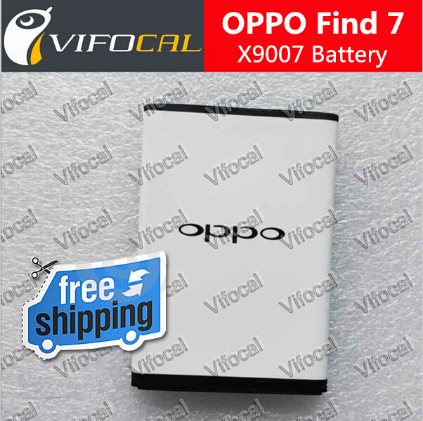 Oppo Find 7 Battery 2700mAh New 100% Original BLP569 For OPPO Find7 X9007 Smart Mobile Phone + Free Shipping + Tracking Number(China (Mainland))