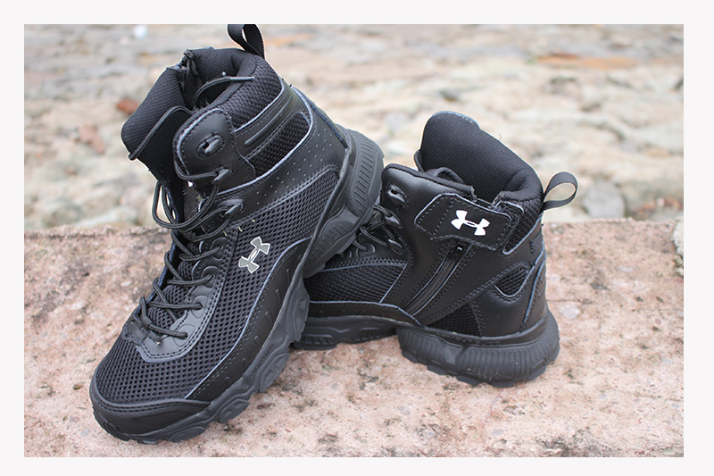 2015 latest nylon mesh Military Tactical Boots Desert Combat Outdoor Army Hiking Travel Leather Ankle Male - The wolves outdoor store