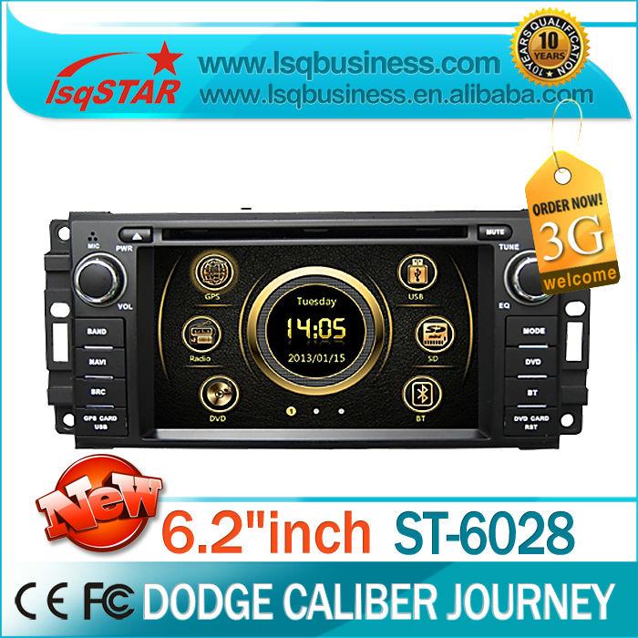 Lsq Star autoradio pour dodge caliber journey avec gps navigation radio bluetooth dual zone ipod téléphone livre .. Hot vente(China (Mainland))