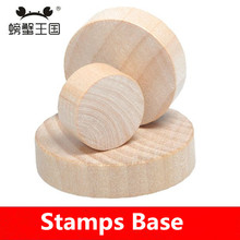 diy rubber stamp base,wood round base ,round stamp handle ,personalized motto diy material,stamp handmade(China (Mainland))