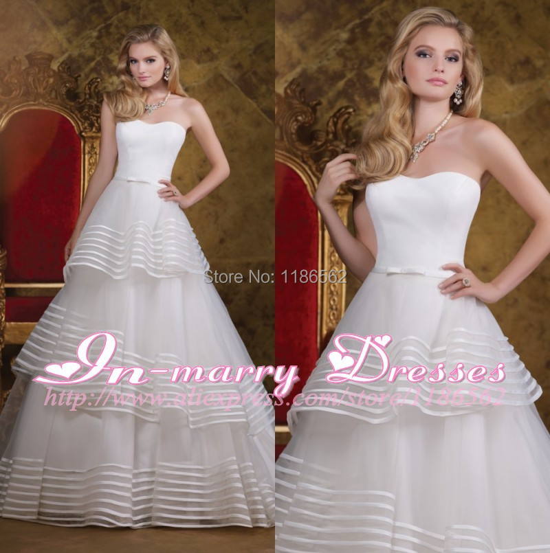 Online get cheap striped wedding dress for Wedding dress with stripes
