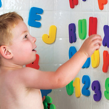 Hot !! Kids & Children & Baby Bath Toys water toys Classic toys Educational 36pcs/set (26 Letters + 10 Numbers )(China (Mainland))