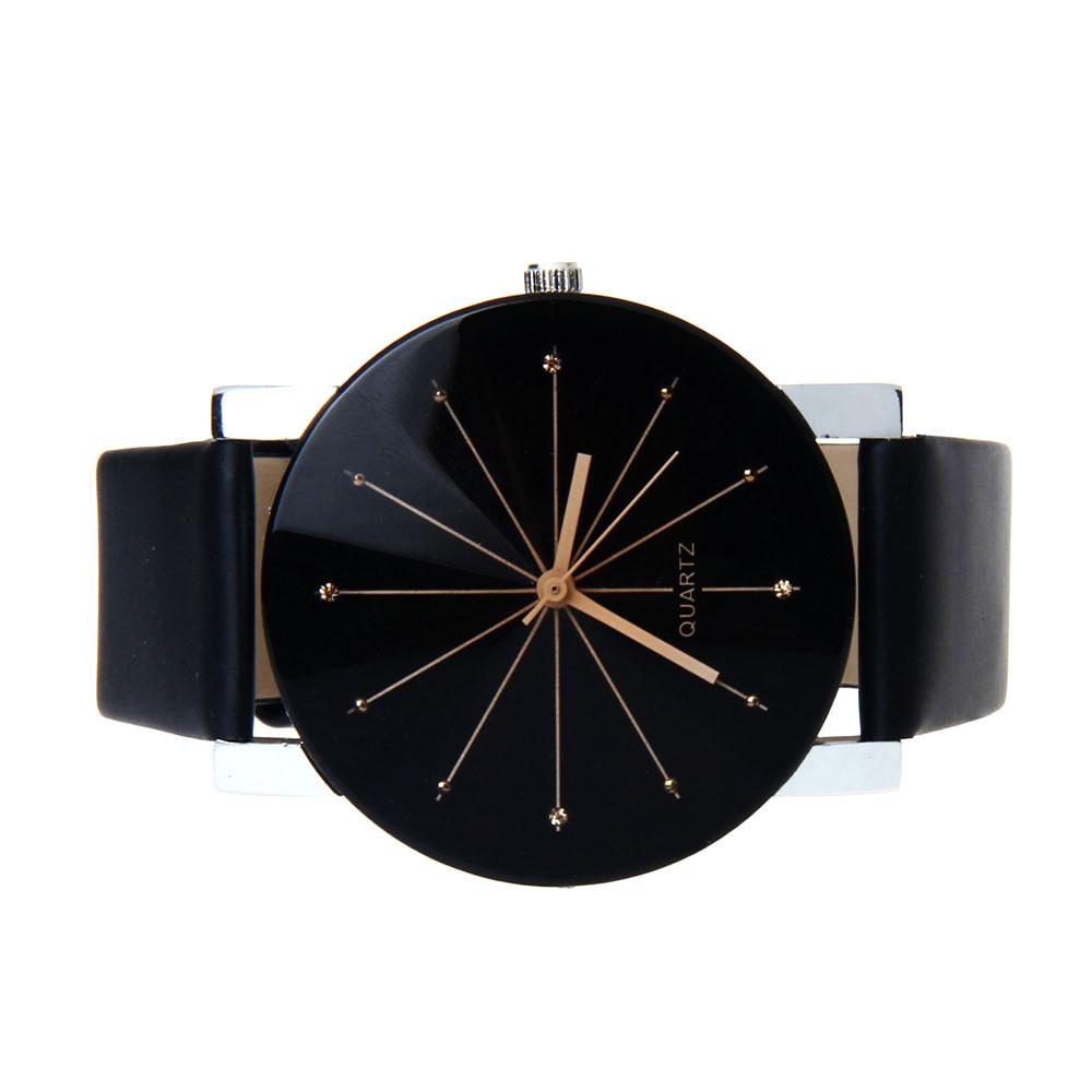 high qulity C6 Fashion Men Quartz Dial Clock Leather Wrist Watch Round Case Man Boy watch wholesale free shipping