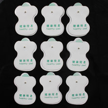 Health Care 50pcs lot NEW White Electrode Pads For Tens Acupuncture Digital Therapy Machine With High