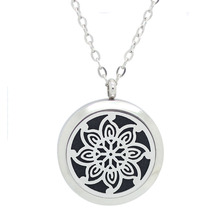 Magnetic Stainless Steel Essential Oil Perfume Diffuser Locket