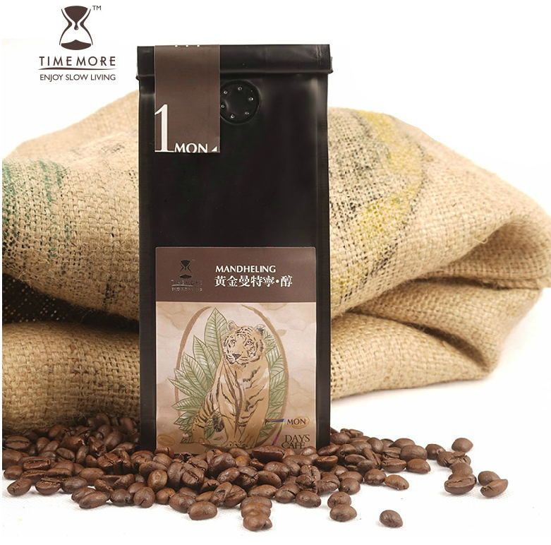 Indonesia Huang Jinman tannin coffee beans imported from black coffee Fresh baked 227 g free shipping