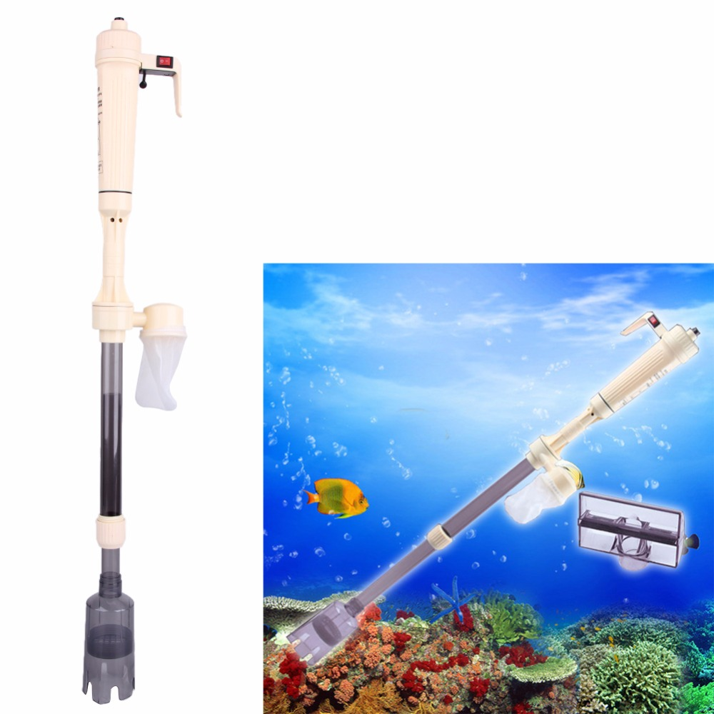 Aquarium fish tank battery vacuum syphon cleaner review - Boutique Aquarium Fish Tank Battery Vacuum Syphon Auto Gravel Water Filter Cleaner Washer China