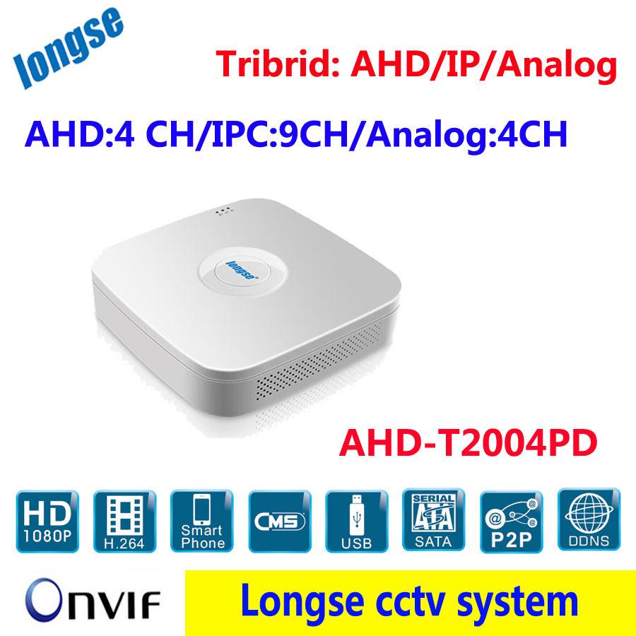 CCTV Mini AHD DVR ,DIY Video Input: AHD: 4CHx1080P / IPC:9CHx1080P / Analog:4CHx960H/D1 P2P H264 Security Home record<br><br>Aliexpress