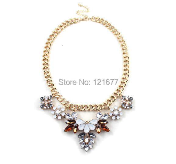 New Arrival Long Chunky Cheap Best Friends Necklace Perfume Women Jewelry Necklaces Indian Music Flowers cc Vintage Discount(China (Mainland))