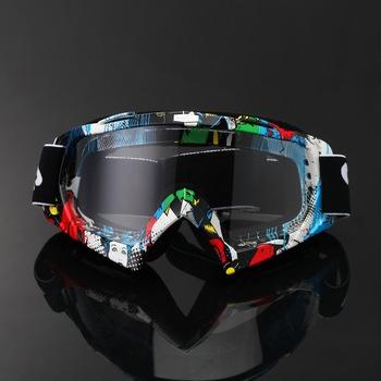 Мужчины лыжные очки мопедов ATV шлем очки Velar тонированные от дорога мотокросс очки