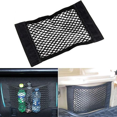 High quality Car Back Rear Trunk Seat Elastic String Net Mesh Storage Bag Pocket Cage(China (Mainland))