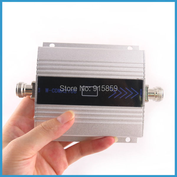 Direct Marketing mobile phone booster amplifier repeater With Display For 3G Repeater W-CDMA 2100Mhz(China (Mainland))