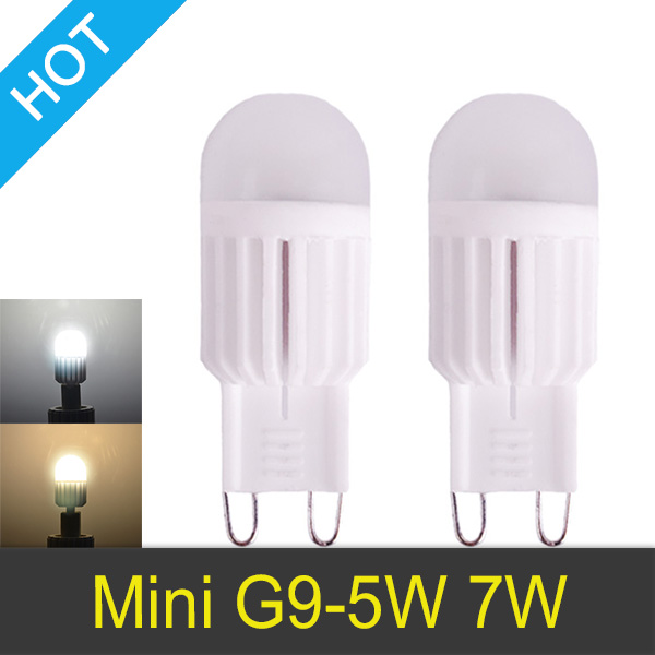 led lamp g9 220v 5w 7w mini led g9 bulb lamp ceramic crystal high power high transmittance 360. Black Bedroom Furniture Sets. Home Design Ideas