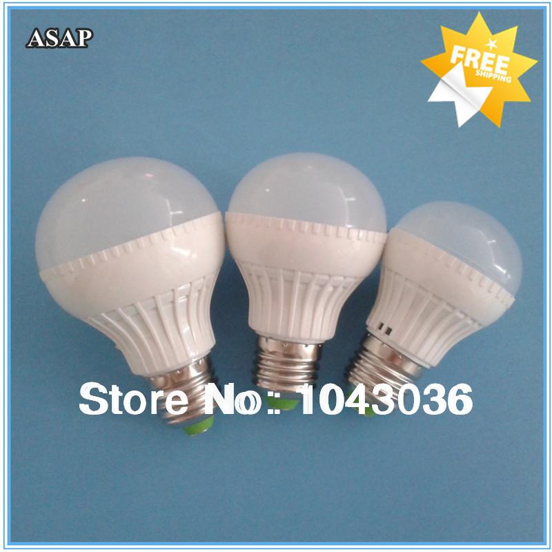 High Power 6pcs SMD5730 Epistar 3W 5W 7W 12V LED Lamp e27 led 12v LED Bulb lamp warranty 2 years Freeshipping(China (Mainland))