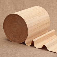 Carbonized bamboo silk tea table to cut bamboo curtain fittings natural Kung Fu tea saucer pad