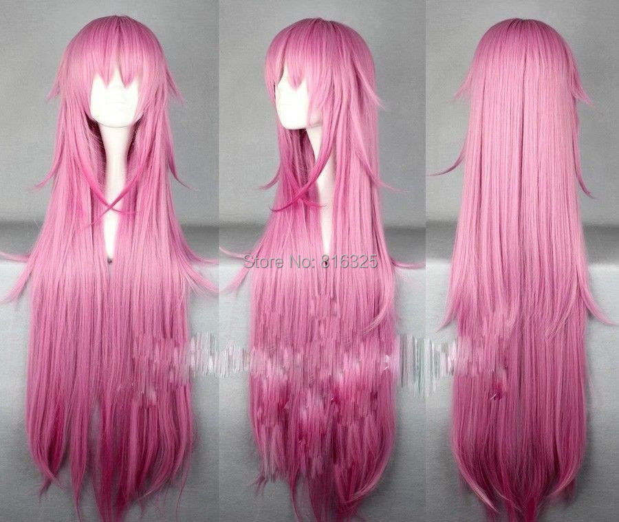 DM690532&gt;&gt;100cm K Project Neko Long Pink Gradient Cosplay Costume Wig Party Wigs<br><br>Aliexpress