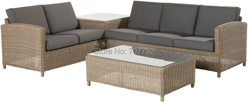 2016 New Product Modern Outdoor Garden Furniture Outlet Sofa Set(China (Mainland))