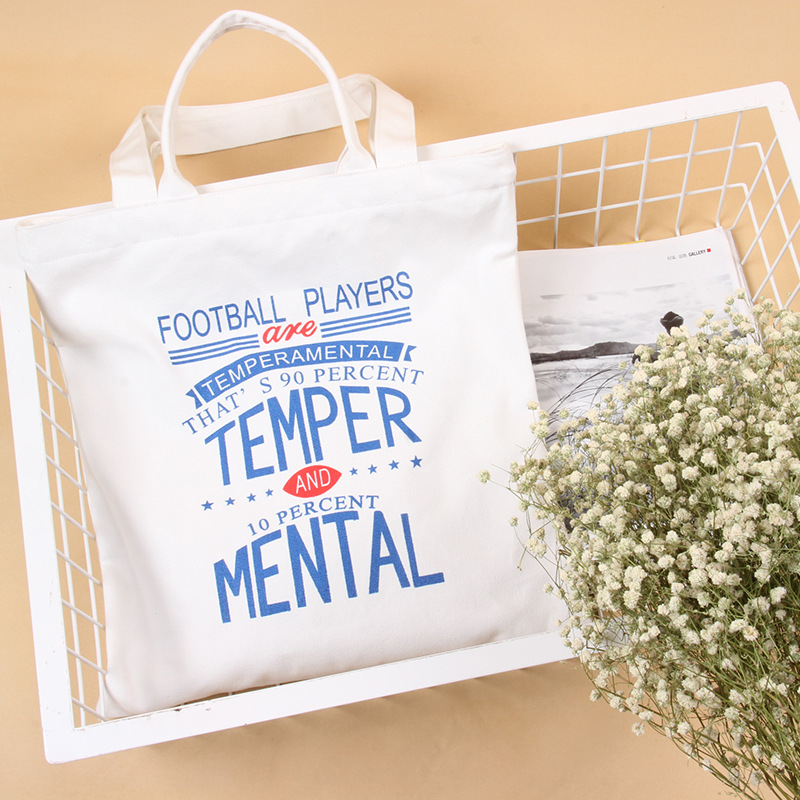 "2016 ""Football Players"" Printed Canvas Cotton Handbags / Eco Reusable Shoulder Bags Shopping Tote 37.5*39cm opvouwbare tas(China (Mainland))"
