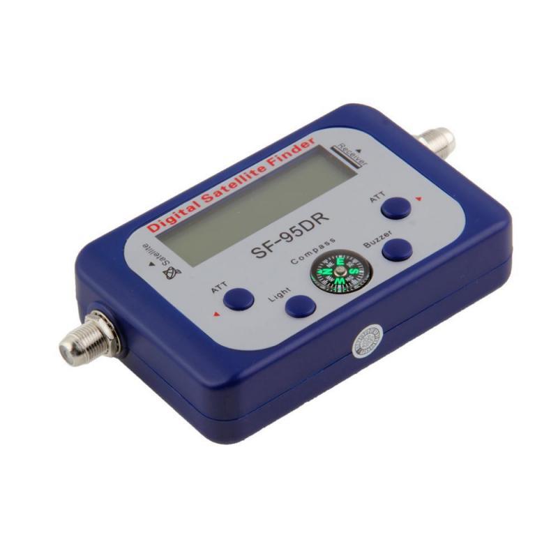NEW Portable Mini Digital LCD Display Satellite TV Signal Finder Satfinder Signal Tester Strength Meter Sky Dish Freesat(China (Mainland))