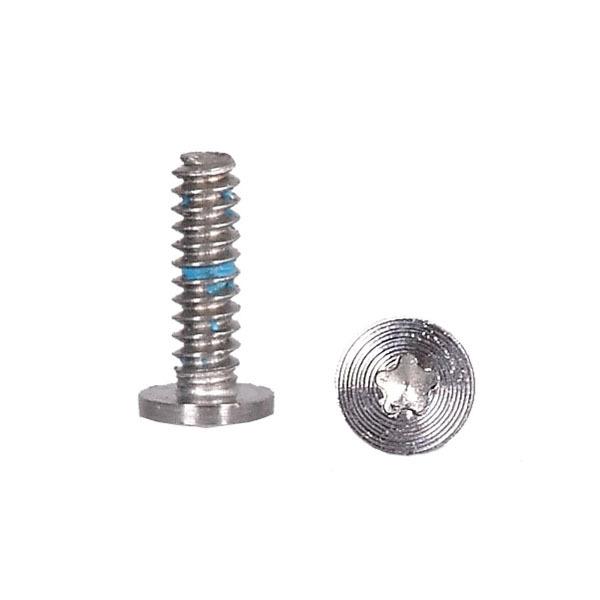 20pcs/lot screws 5 point star pentagen pentagonal screw bottom dock for iPhone 4 4G free shipping